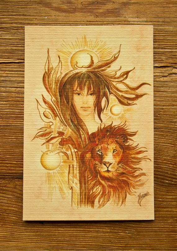"""THE LEO"" - Protective Angel for Zodiac Sign ..."