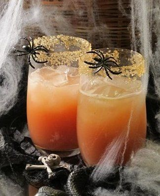 Kiss of the Vampire cocktail with tequila
