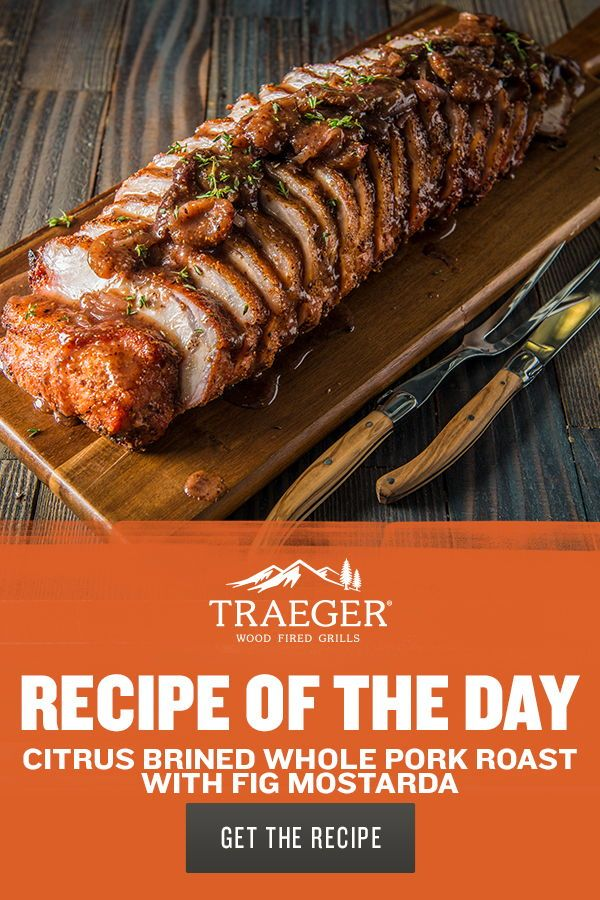 Pork Roast Recipes Traeger : roast, recipes, traeger, Citrus, Brined, Roast, Mostarda, Recipe, Traeger, Grills, Roast,, Smoked, Recipes,, Recipes