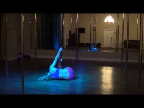 Back to Black - Beyonce and Andre 3000 Beginner Pole Dance Routine 8-19-13 Pole dance routine blog
