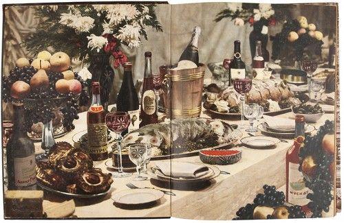 [MIKOIAN, Anastas and I. K. SIVOLAP, editors]. Kniga o vkusnoi i zdorovoi pishche [Book of delicious and healthy food]. #food #banquet #cuisine  Moscow, Pishchepr...