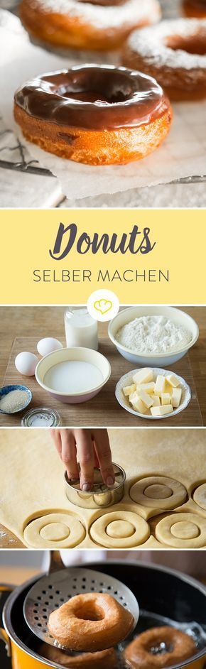 donuts selber machen so backst du deine lieblingskringel recipe schokolade donuts and backen. Black Bedroom Furniture Sets. Home Design Ideas