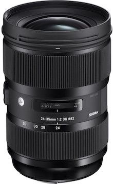 LensRentals.com - Rent a Sigma 24-35mm f/2 DG HSM A1 for Canon