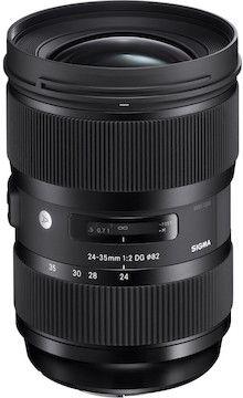 LensRentals.com - Rent a Sigma 24-35mm f/2 DG HSM A1 for Canon