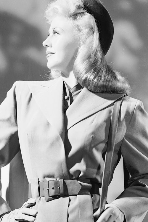 Ginger Rogers, 1942.