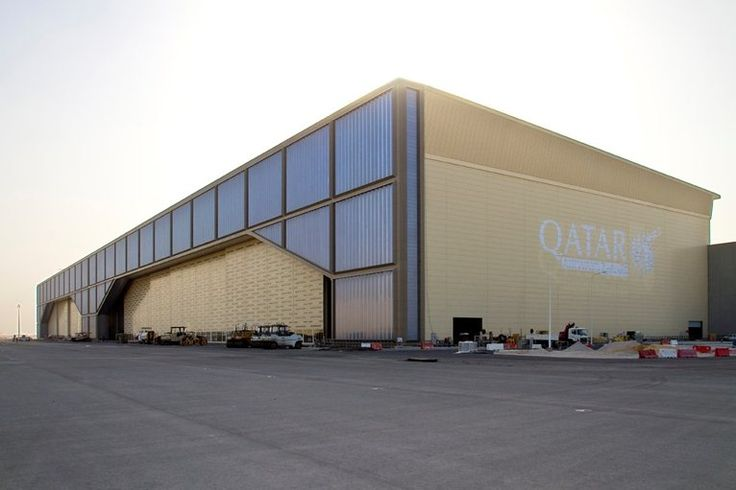 Hangar Qatar Airways, Ad Dawhah, 2010 - dott.gallina