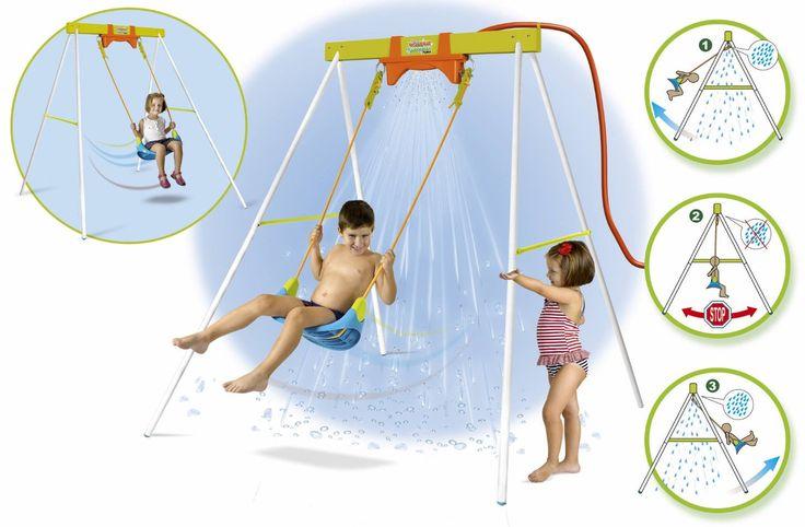 COLUMPIOS PARA NIÑOS - COLUMPIO DE AGUA - COLUMPIO FEBER, IndalChess.com Tienda de juguetes online y juegos de jardin