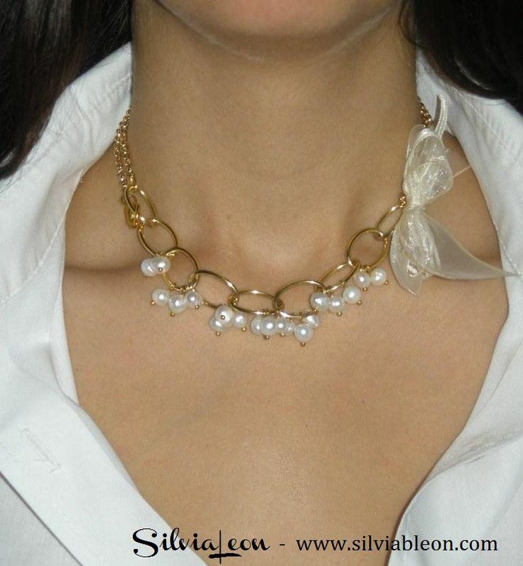 collares de perlas y cadena - Buscar con Google