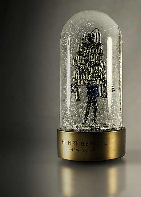 Henry Bendel snow globes..-I'm obsessed..may have started collection