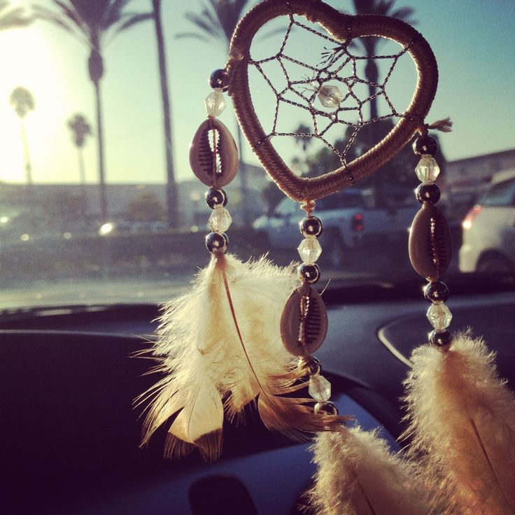 Dream catcher for my car:)