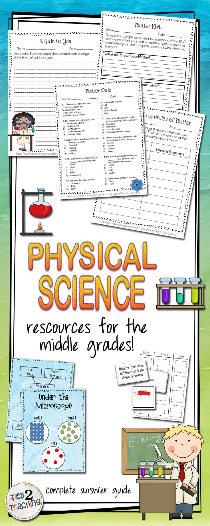 1000 ideas about physical science on pinterest science anchor charts states of matter and. Black Bedroom Furniture Sets. Home Design Ideas