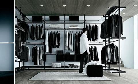 Mężczyźni też lubią dobrze wyglądać - garderoba jest nie tylko dla kobiet