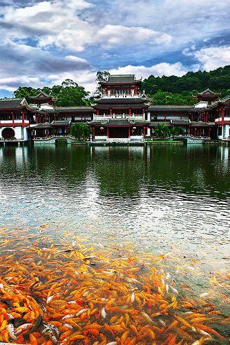 Thanh Tu Son park, Nanning, China