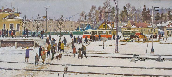 Котик Борис Васильевич (1921-1984) «В пригороде Ленинграда»