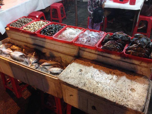 Street food, Sabang district, Jakarta