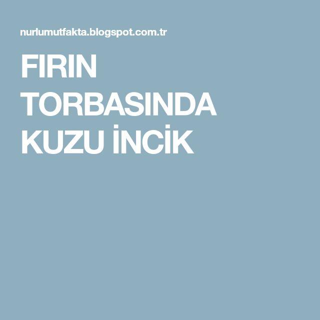 FIRIN TORBASINDA KUZU İNCİK