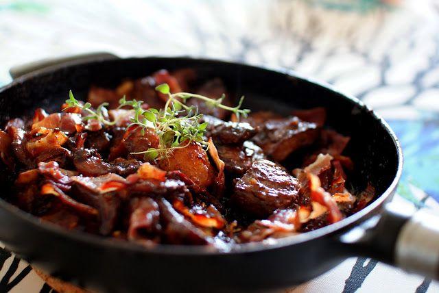 Keittotaiteilua: Persikoita ja ibericoporsaan secretoa