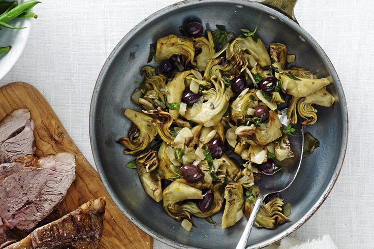 Valkoviinissä paistettuja artisokkia | Koti ja keittiö