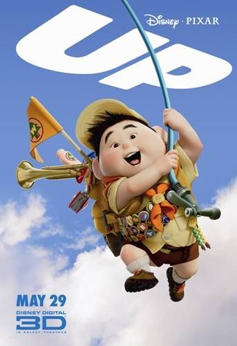 Disney movie posters   Up Movie Poster