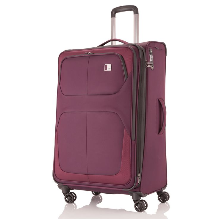 Erweiterbarer mittlerer #Koffer TITAN Nonstop bei Koffermarkt: ✓wine ✓4 Rollen ✓68 x 42 x 28 cm ✓Weichgepäck