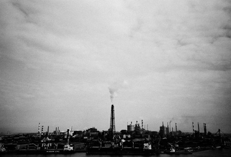 その他カメラ - 要塞都市 KASHIMA -  鹿島製鉄所  モノクロ  - Camera Talk -