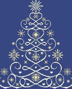 Christmas Tree 12 by Alessandra Adelaide Needleworks - Cross Stitch Kits & Patterns