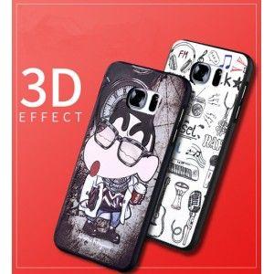 Neues Spiel Reliefskulptur cartoon one piece und Marvel Held weich silikon Handyhülle für Samsung s7 edge