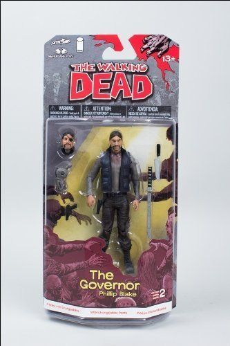 2013 Walking Dead Comic Book Series 2 The Governor Phillip Blake Action Figure - Hot!!! by McFarlane @ niftywarehouse.com
