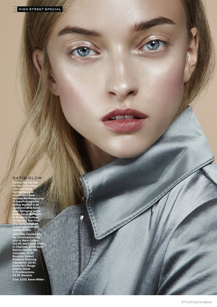Luminous Beauty: Marcelina Sowa by Jamie Nelson for Stylist Magazine