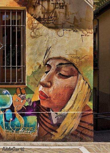 Graffiti del Niño de la Pinturas, Granada