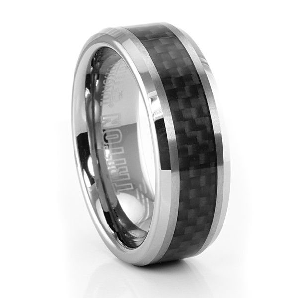 <strong class='info-row'>YatesJewelers.com</strong> <div class='info-row description'>Tungsten and Carbon Fiber Wedding Band  A popular seller by TRITON. Guys into racing (bike or car) really understand and like carbon fiber. Nice beveled edge design.</div> <div class='row info-row text-center'> <div class='col-xs-6 col-xs-offset-3'> <a class='image-caption-view-website' href='http://www.titanium-jewelry.com/tr-2675c.html' target='_blank'> <div class='view-website'>View Website</div> </a…