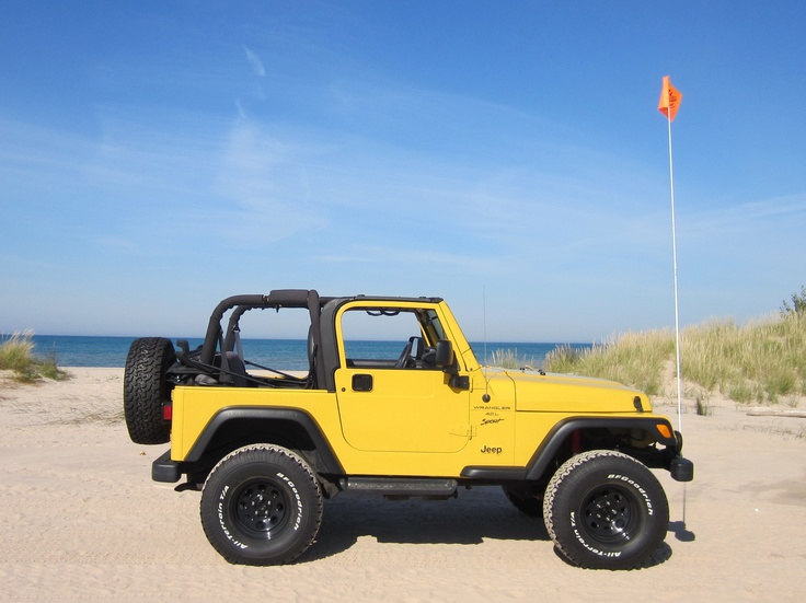 One of these days I will own a teal or a yellow jeep