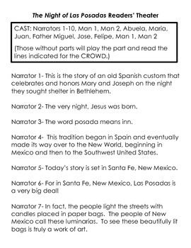 This is a 21 page packet that will really be great to use right before Christmas break!  It is engaging and will probably introduce your students to a new idea---Las Posadas!  This can be used in a religion classroom, Spanish classroom, or Language arts room!