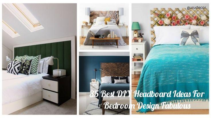 35 Best DIY Headboard Ideas For Bedroom Design Fabulous