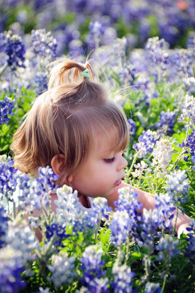 Smelling the flowers ✿⊱╮