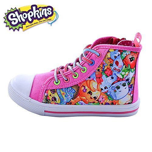 Save on Shopkins Girls High-Top Round Toe Canvas Sneakers  Save on Shopkins Girls High-Top Round Toe Canvas Sneakers  Expires Aug 10 2017