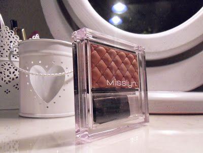 Malinqa radzi jakie kosmetyki warto kupić : MISSLYN COMPACT BLUSHER 25 TEA ROSE