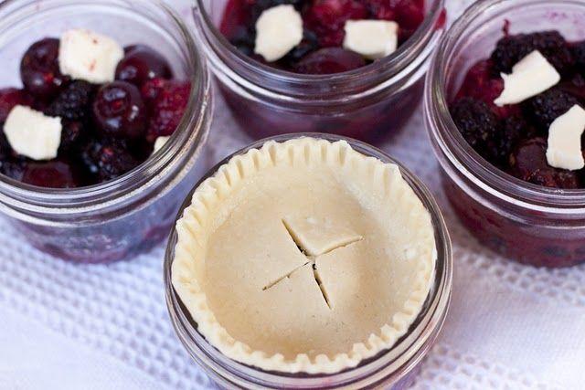 tutorial/recipe for baby food jar pies:)