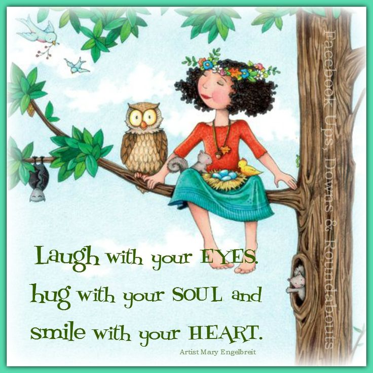 Laugh with your EYES, hug with your SOUL and smile with your HEART. https://www.facebook.com/UpsDownsRoundabouts/photos/p.1002152423152831/1002152423152831/?type=1&theater