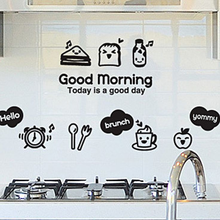 Kitchen Wall Sticker DIY Home Decor Wall Art Cabinet Refrigerator Restaurant /Kitchen /Utensils/ Refrigerator Sticker Kitchen -- AliExpress Affiliate's buyable pin. Click the image for detailed description on www.aliexpress.com