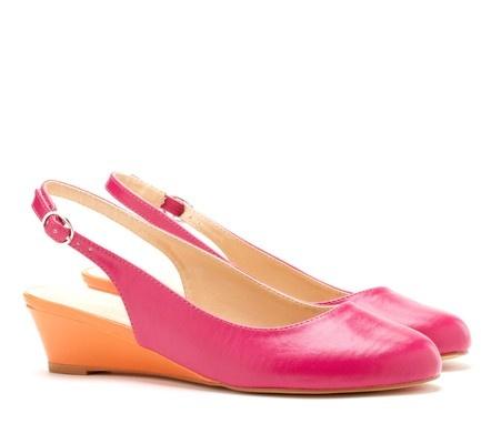 Hot pink and orange: Fashion Passion, Hot Pink