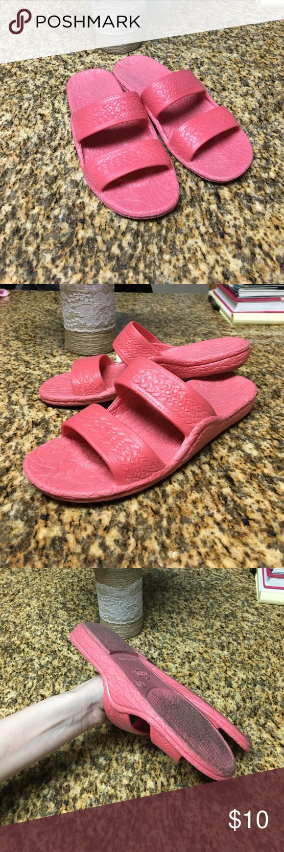 Jesus Sandals Bubblegum pink Jesus sandals! Size 7. Only wore when taking out the trash in my apartment complex  so for about a week total maybe. Super adorable and comfy! Perfect for spring and summer! Shoes Sandals