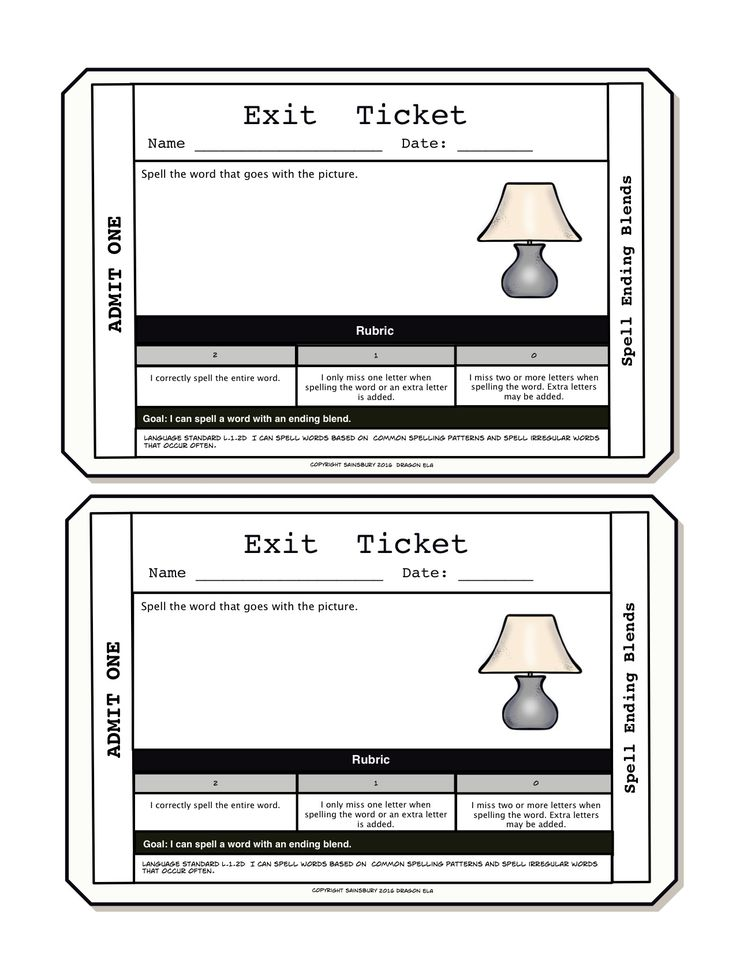 23 best Exit Tickets images on Pinterest Exit tickets, Formative