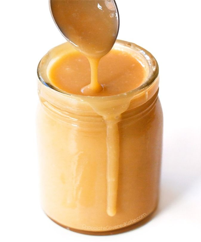 How To Turn Coconut Milk Into Caramel Read more at http://chocolatecoveredkatie.com/2017/03/02/coconut-caramel-recipe-vegan/#EIldcuGDJwFAxtIx.99
