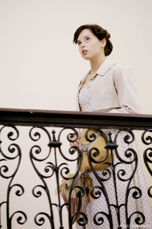 Northanger Abby by Jane Austen   Something about this shot feels very fresh and retro-modern to me.