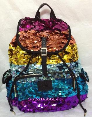 Sparkly backpack from PINK, won't be for school more as a purse