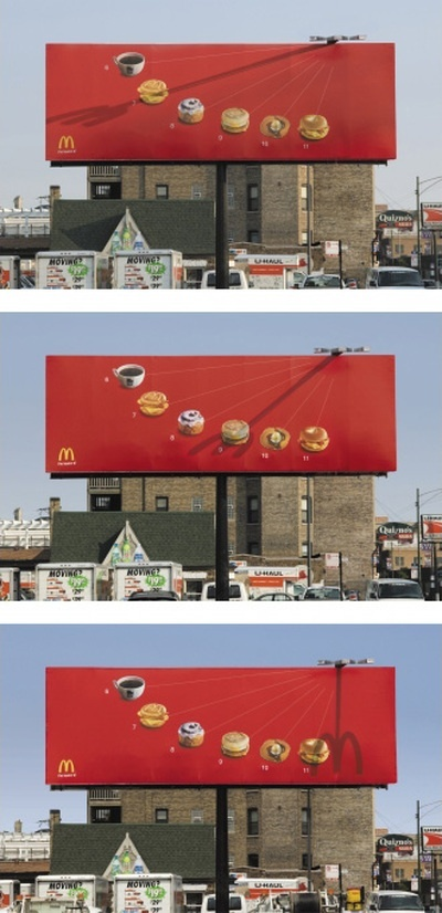 McDonalds bilboard
