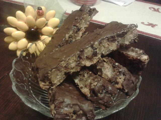 le Barrette morbide con frutta secca e castagne di Simona di Simo's Cooking: