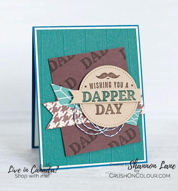 Crush On Colour: Dapper Day - Truly Tailored