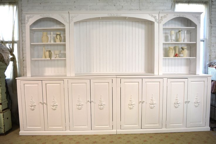 Painted Cottage Shabby White Farmhouse Media Cabinet by paintedcottages on Etsy https://www.etsy.com/listing/481555232/painted-cottage-shabby-white-farmhouse